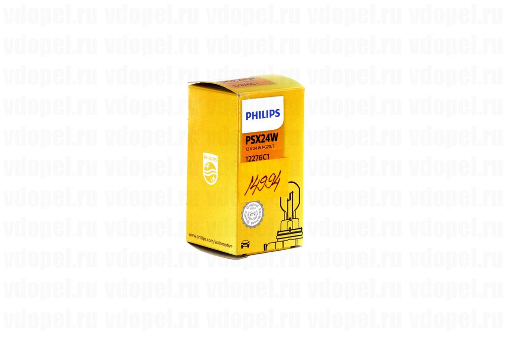 PHILIPS 12276C1  - Лампа противотуманки. PSX24W Астра J, Антара Captiva