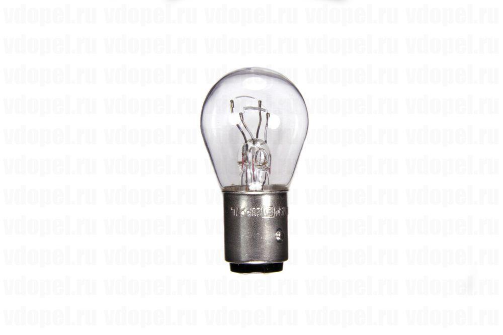 PHILIPS 12499CP  - Лампа габарита и стоп сигнала. P21/5W двухнитевая.