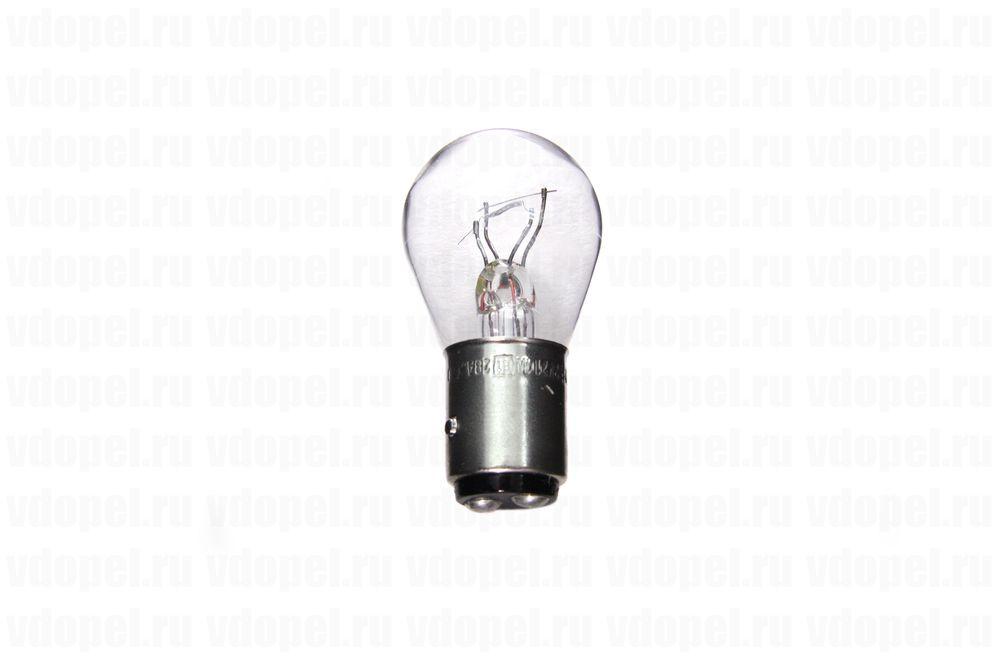 PHILIPS 12594CP  - Лампа габарита и стоп сигнала. P21/4W (асиметричная)