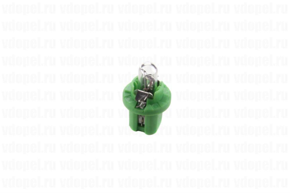 PHILIPS 12604CP  - Лампа приборной панели. 12V  2W(зелёная)