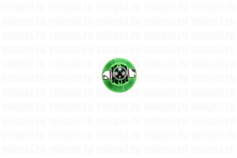 PHILIPS 12604CP  - Лампа приборной панели. 12V  2W (зелёная)
