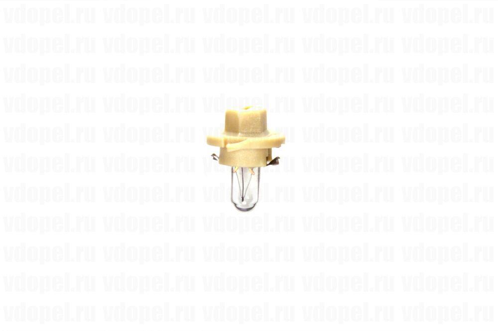 PHILIPS 12627CP  - Лампа приборной панели. 12V  1,5W (бежев.)