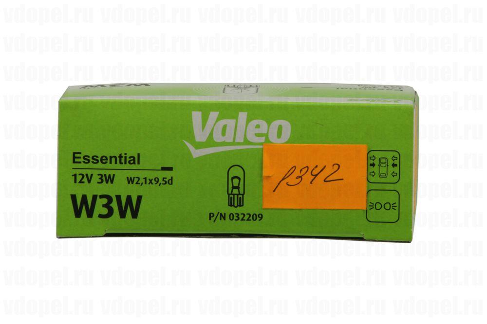VALEO 032209  - Лампа подсветки приборной панели. W3W безцокольная.